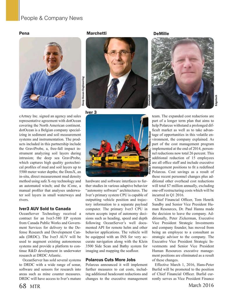 Marine Technology Magazine, page 68,  Mar 2016