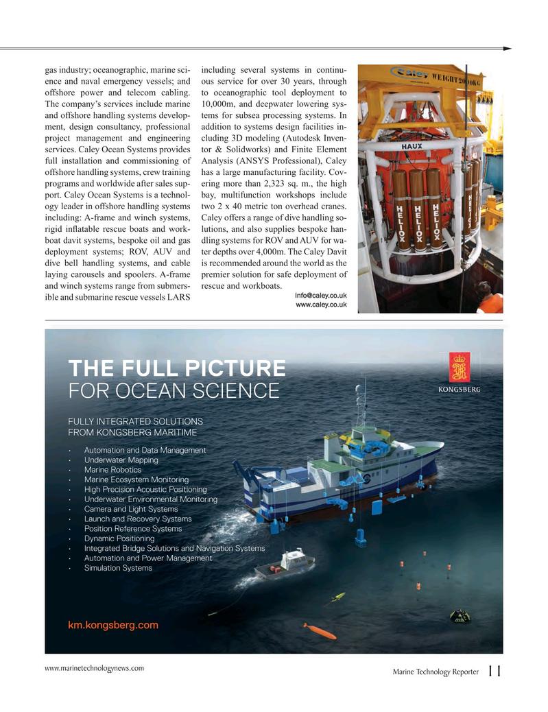 Marine Technology Magazine, page 11,  Jul 2016