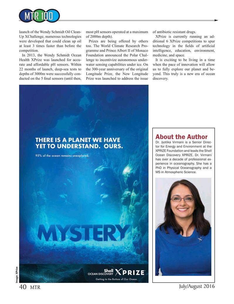 Marine Technology Magazine, page 40,  Jul 2016