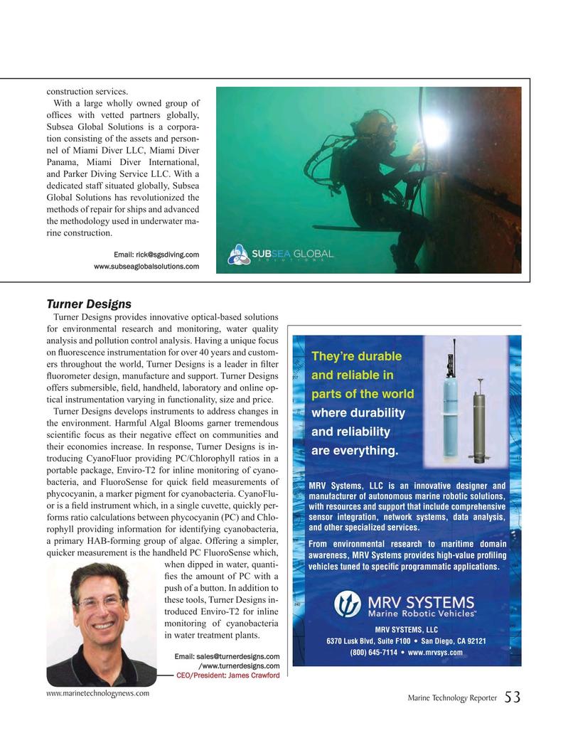 Marine Technology Magazine, page 53,  Jul 2016