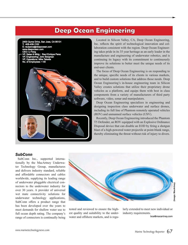 Marine Technology Magazine, page 67,  Jul 2016