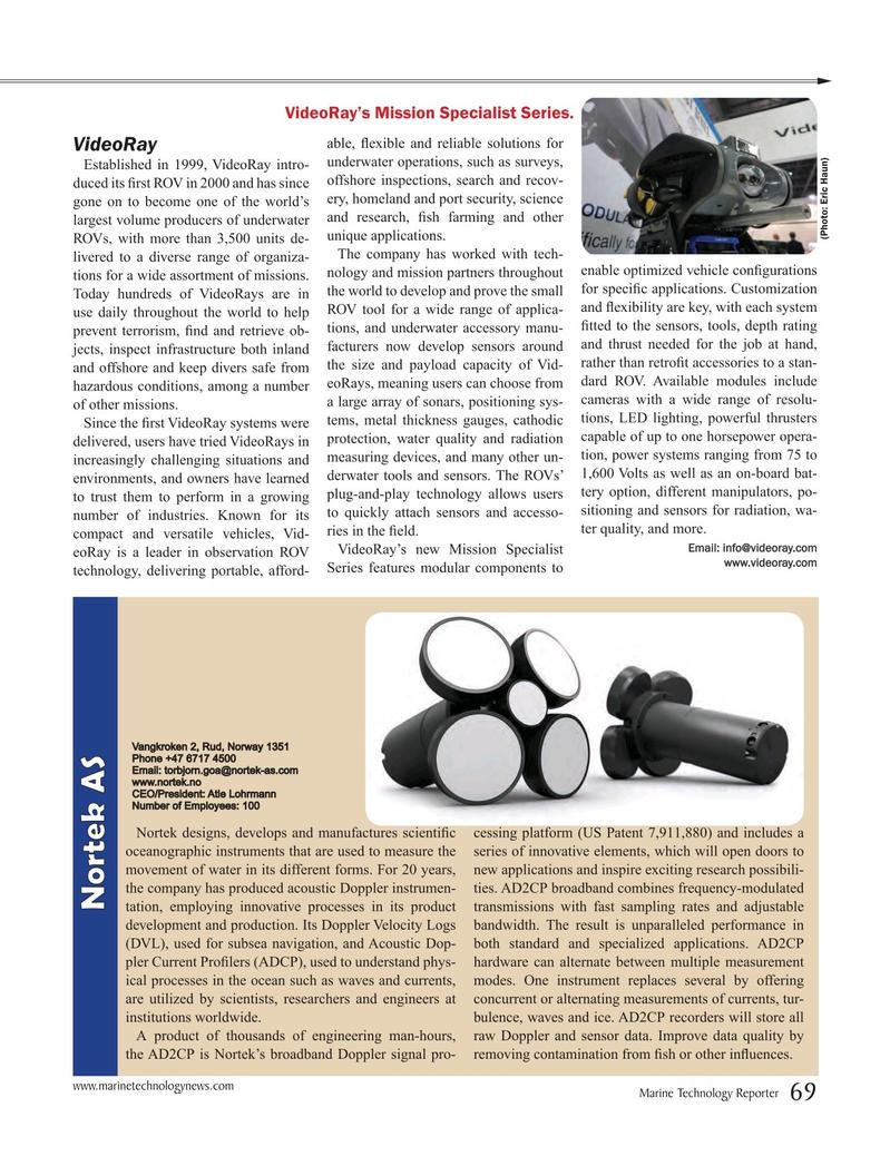 Marine Technology Magazine, page 69,  Jul 2016