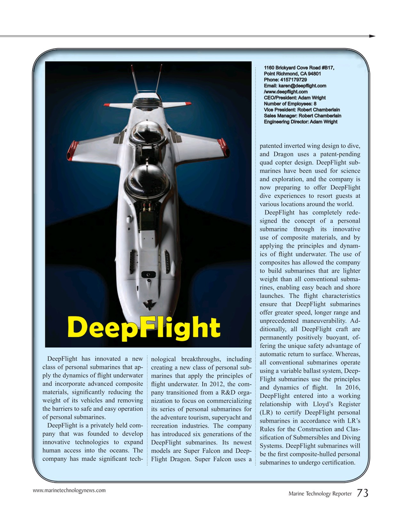 Marine Technology Magazine, page 73,  Jul 2016