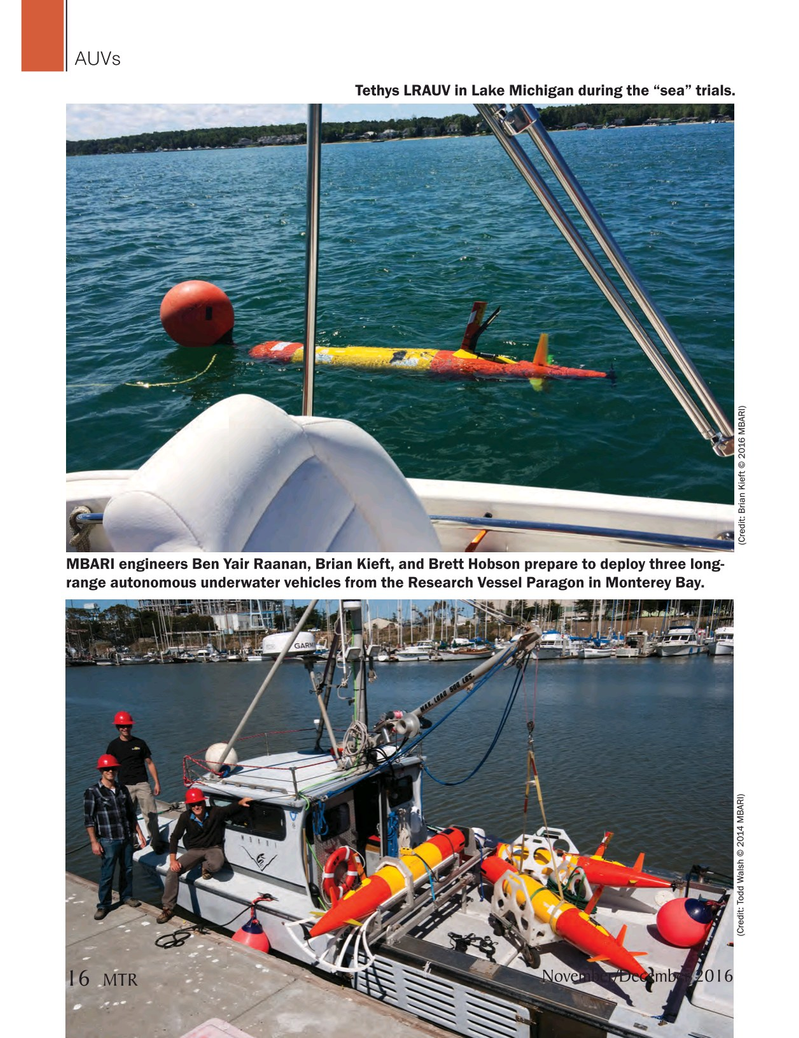 Marine Technology Magazine, page 16,  Nov 2016