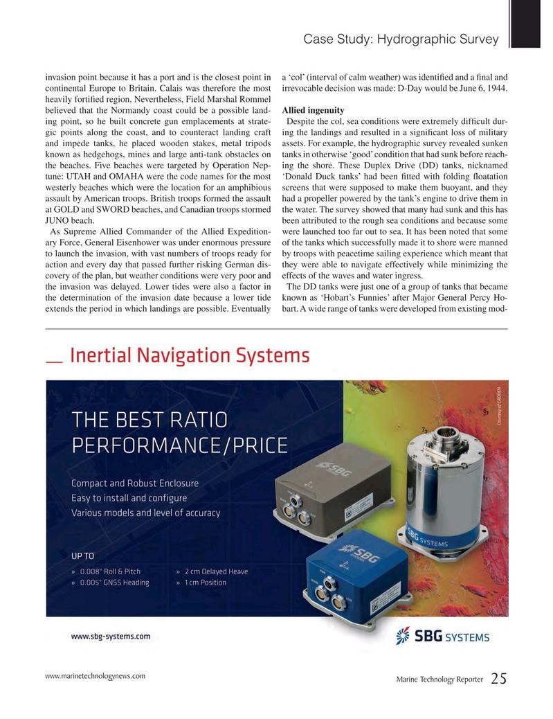 Marine Technology Magazine, page 25,  Nov 2016