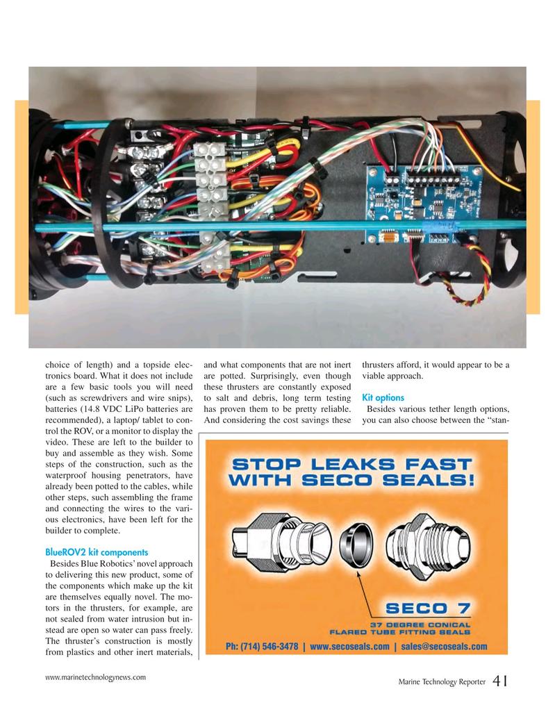 Marine Technology Magazine, page 41,  Nov 2016