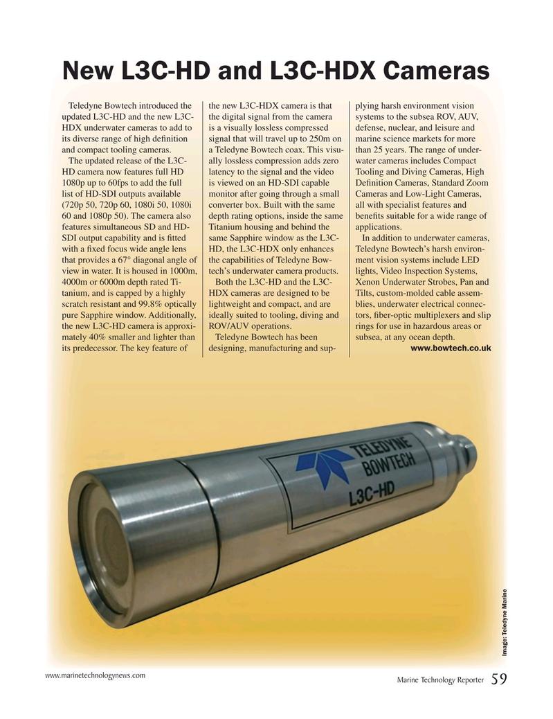 Marine Technology Magazine, page 59,  Nov 2016