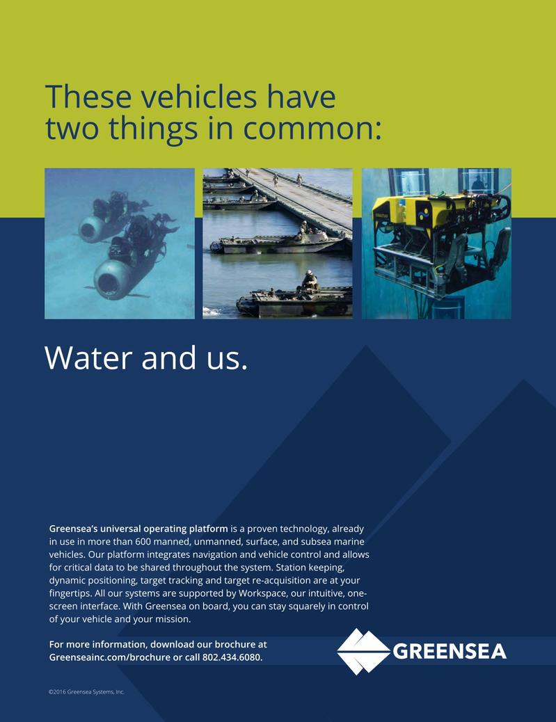 Marine Technology Magazine, page 13,  Mar 2017
