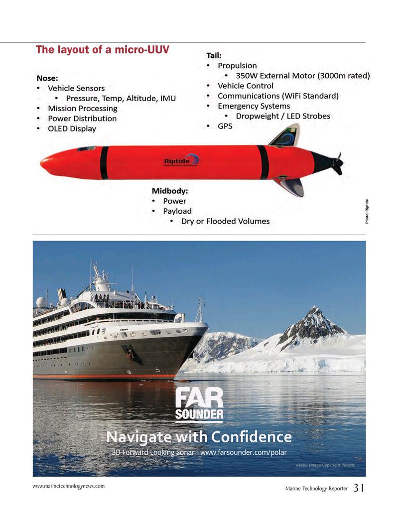 Marine Technology Magazine, page 31,  Mar 2017