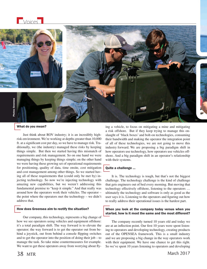 Marine Technology Magazine, page 38,  Mar 2017