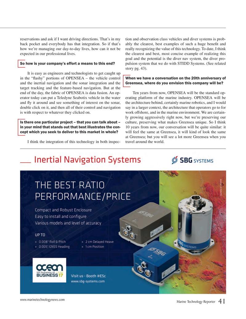 Marine Technology Magazine, page 41,  Mar 2017