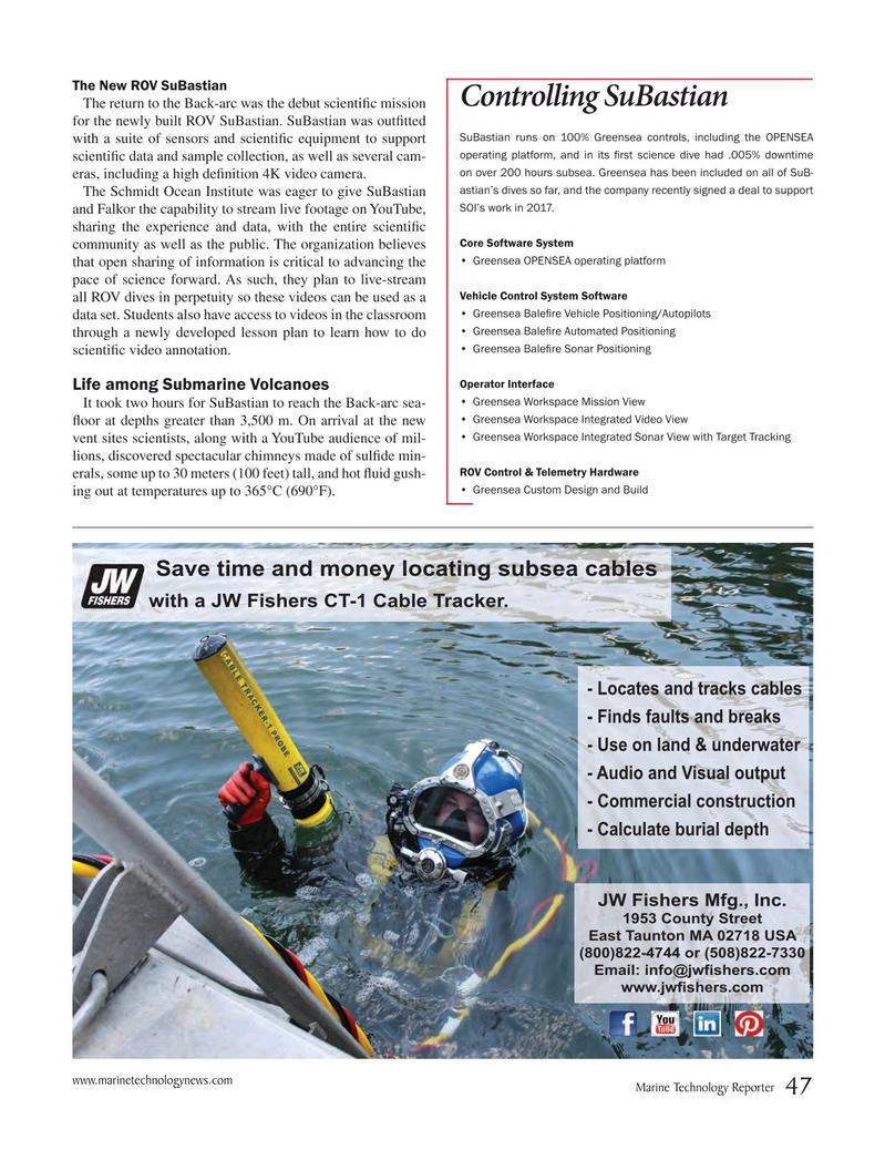 Marine Technology Magazine, page 47,  Mar 2017