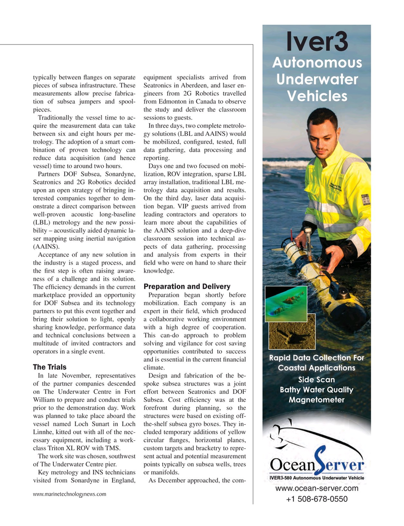 Marine Technology Magazine, page 55,  Mar 2017