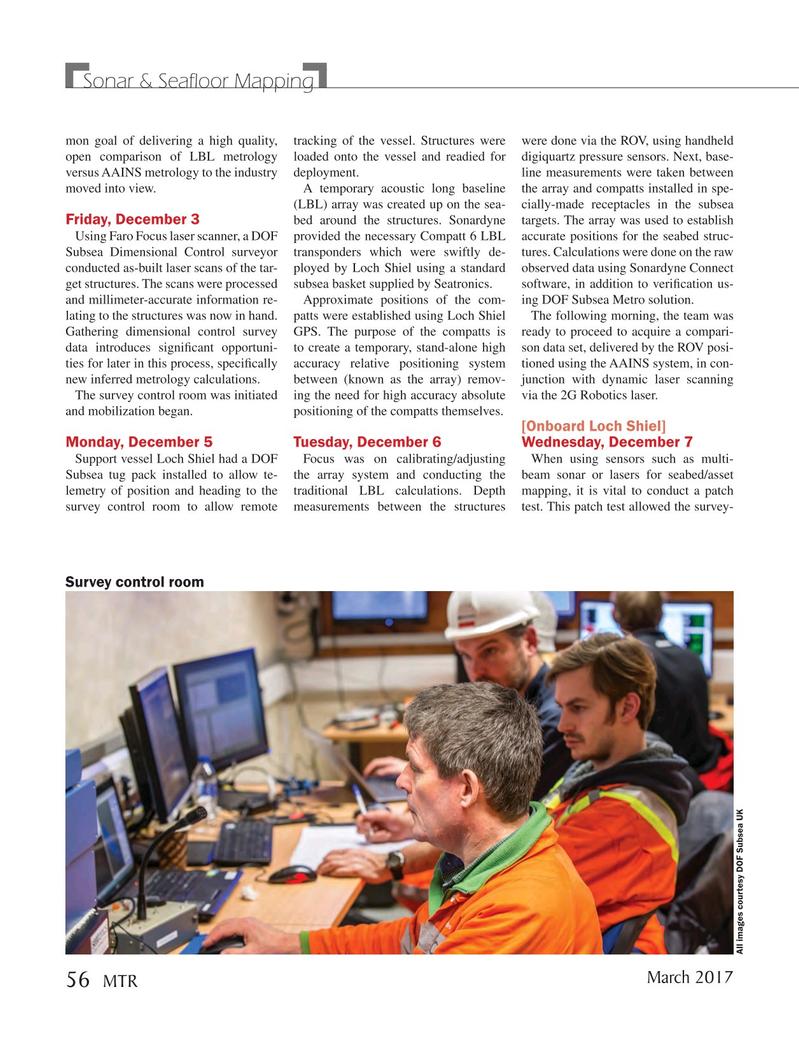 Marine Technology Magazine, page 56,  Mar 2017