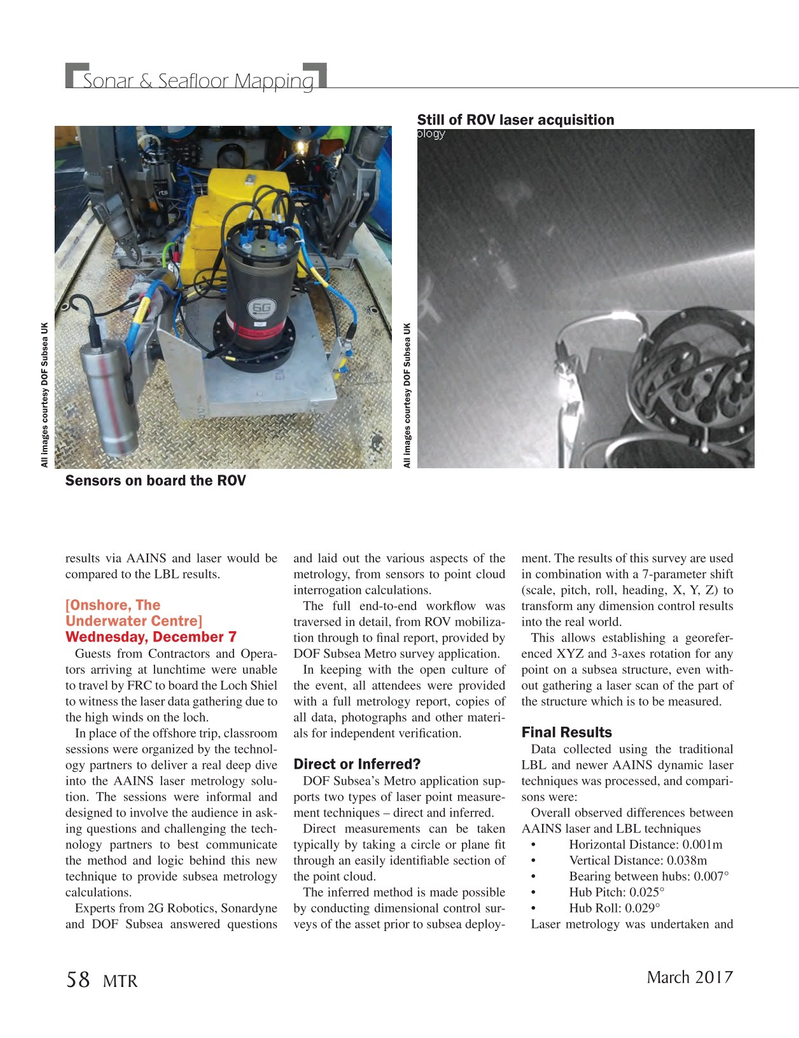 Marine Technology Magazine, page 58,  Mar 2017