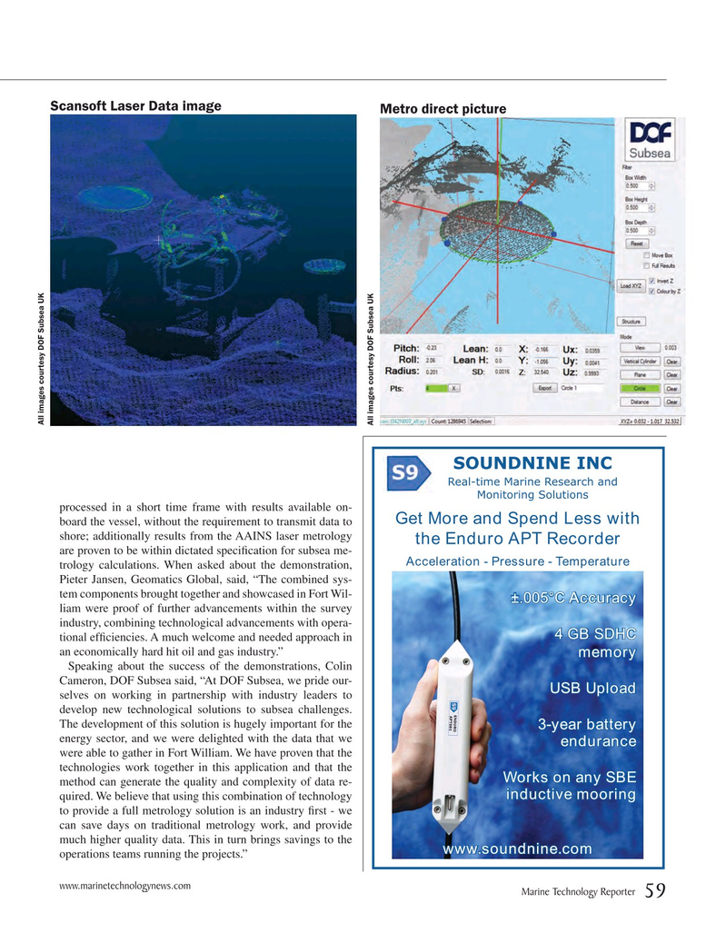 Marine Technology Magazine, page 59,  Mar 2017