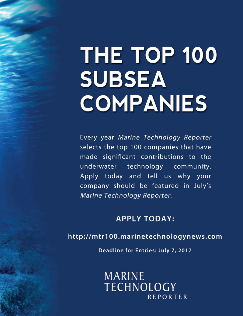 Marine Technology Magazine, page 63,  Mar 2017
