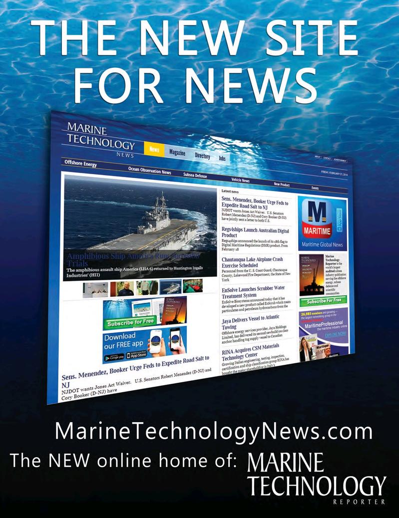 Marine Technology Magazine, page 64,  Mar 2017