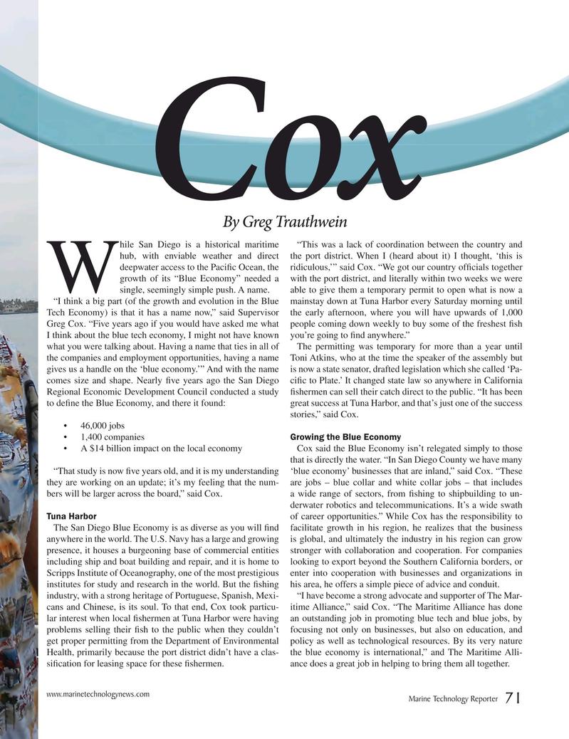Marine Technology Magazine, page 71,  Mar 2017