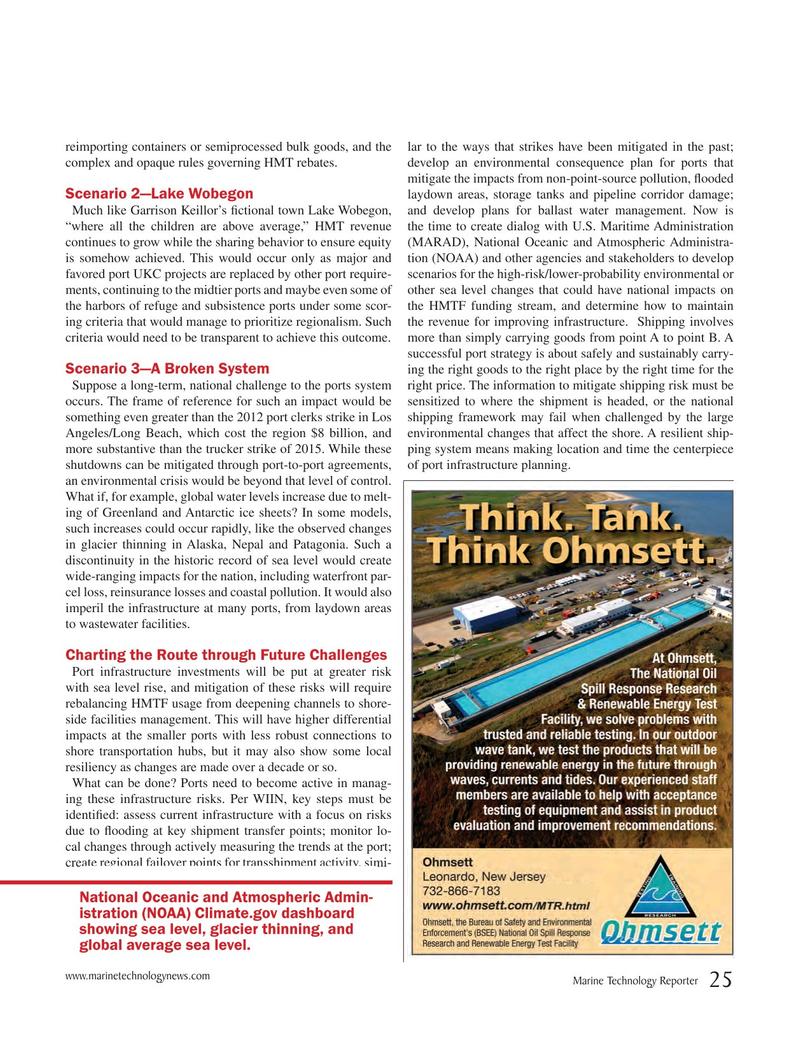 Marine Technology Magazine, page 25,  May 2017