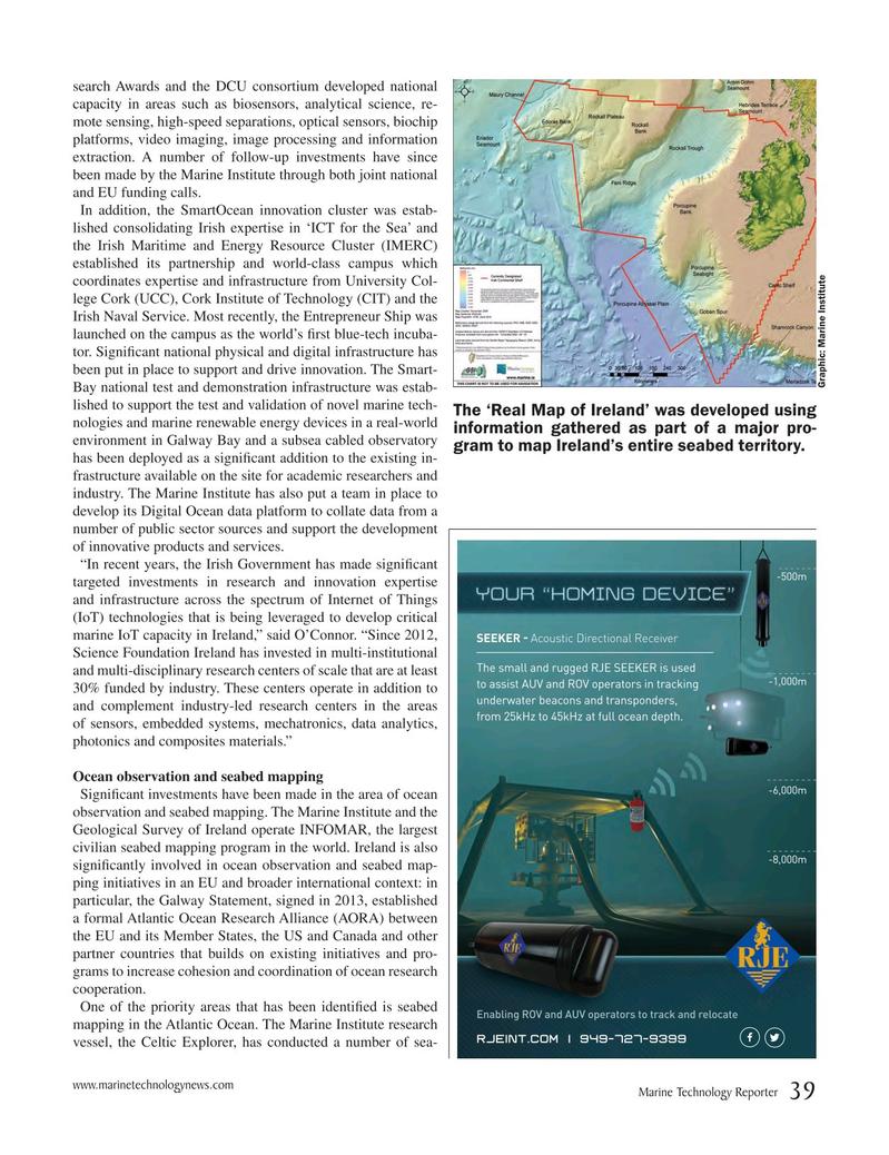 Marine Technology Magazine, page 39,  May 2017