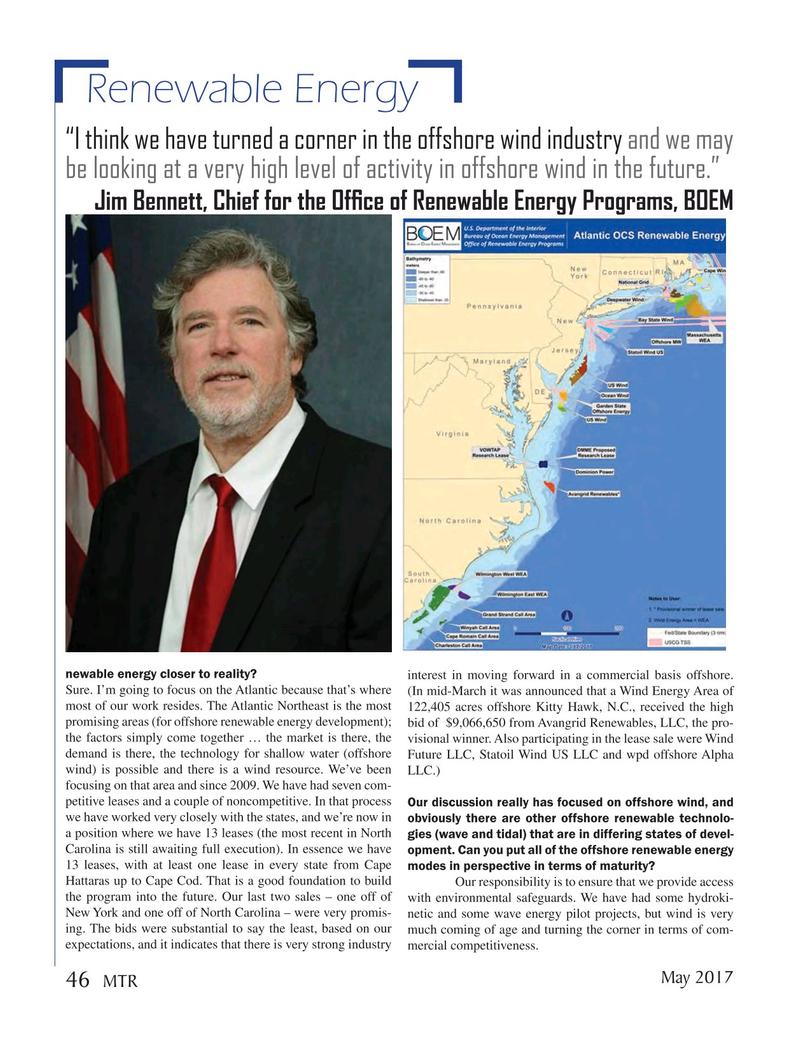Marine Technology Magazine, page 46,  May 2017