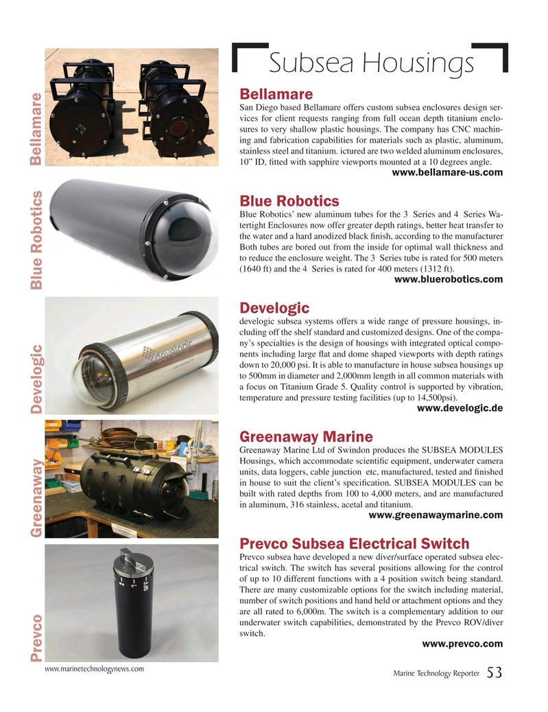 Marine Technology Magazine, page 53,  May 2017