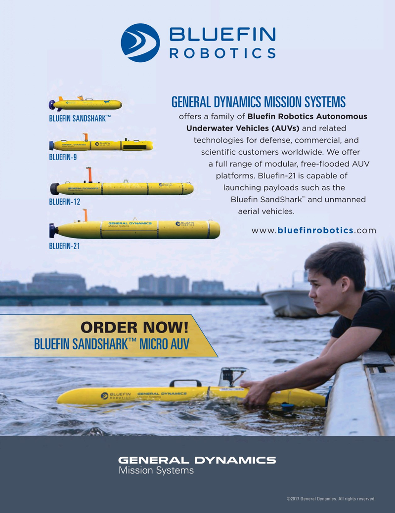 Marine Technology Magazine, page 4th Cover,  May 2017