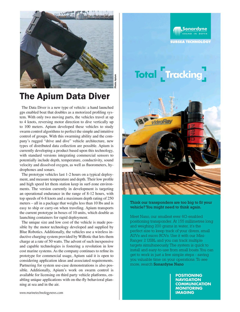 Marine Technology Magazine, page 17,  Jun 2017