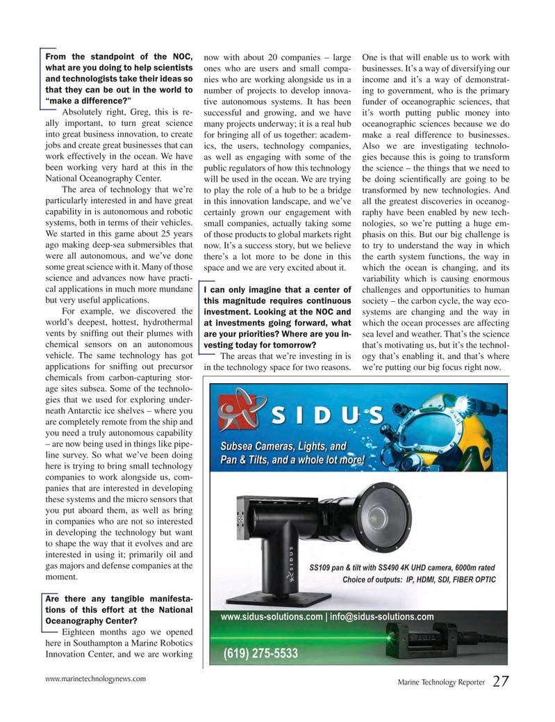 Marine Technology Magazine, page 27,  Jun 2017