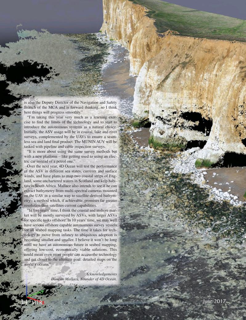 Marine Technology Magazine, page 34,  Jun 2017