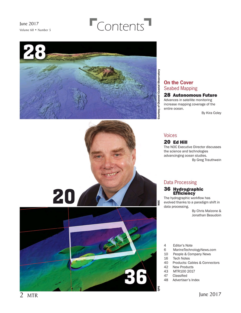 Marine Technology Magazine, page 2,  Jun 2017