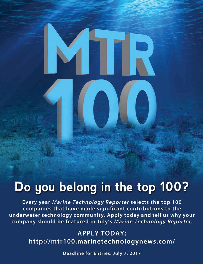 Marine Technology Magazine, page 43,  Jun 2017