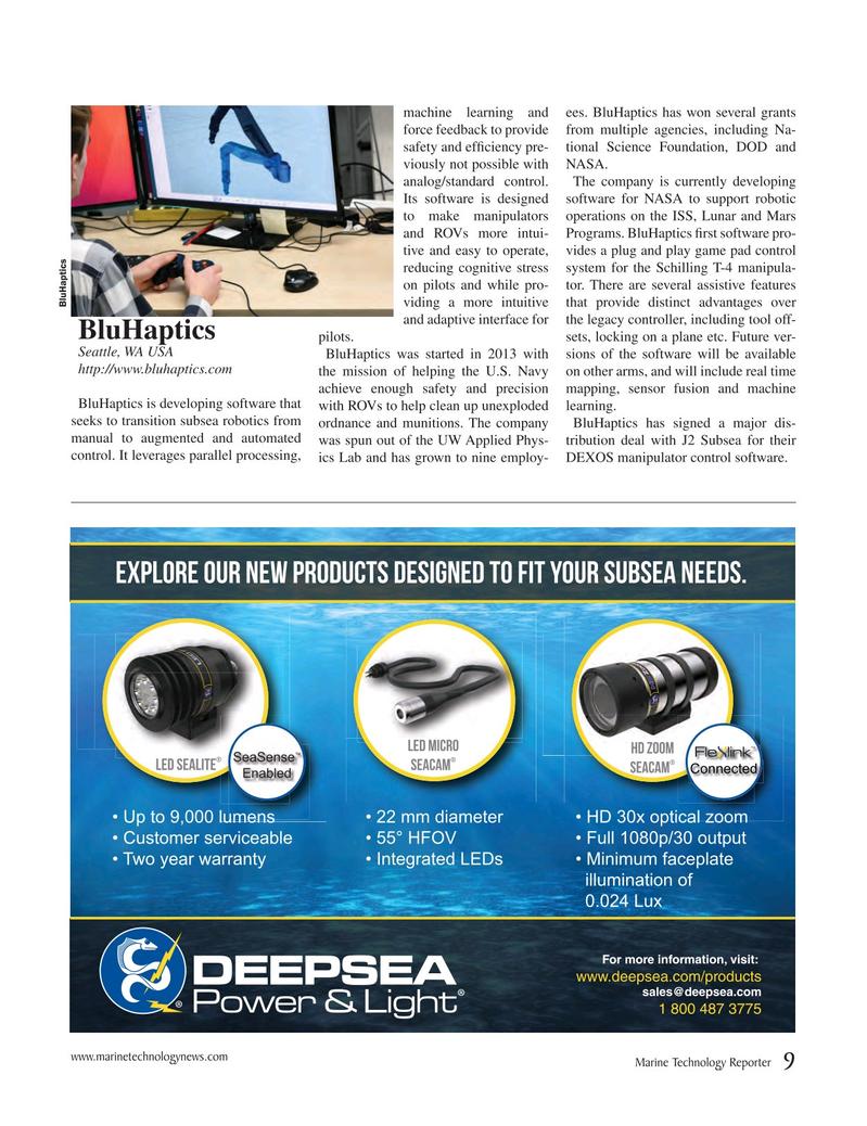 Marine Technology Magazine, page 9,  Jul 2017