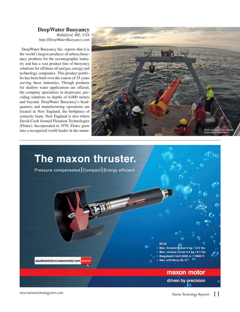 Marine Technology Magazine, page 11,  Jul 2017