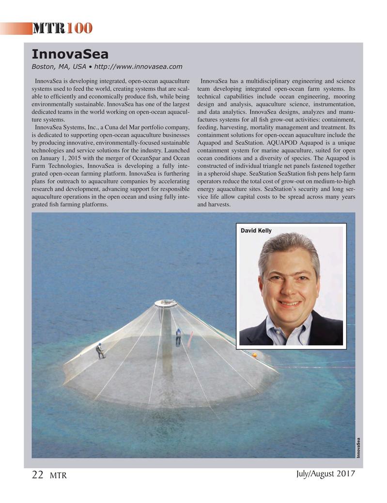 Marine Technology Magazine, page 22,  Jul 2017