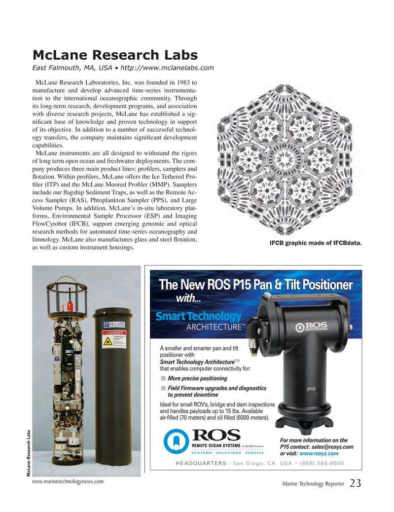 Marine Technology Magazine, page 23,  Jul 2017