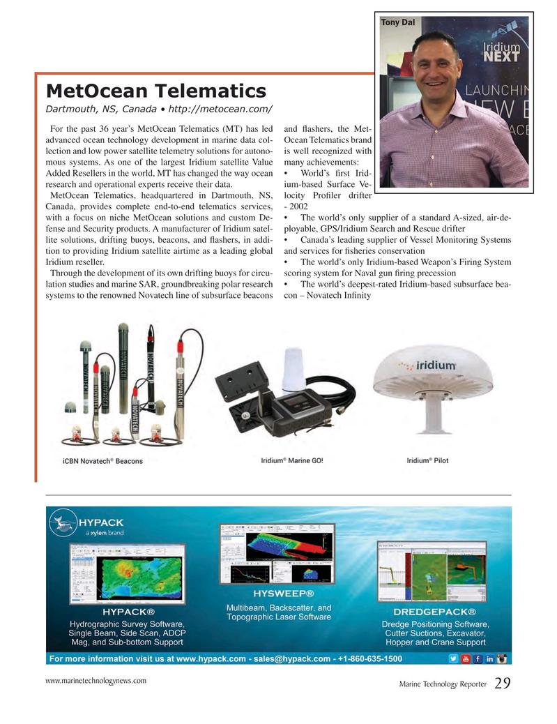 Marine Technology Magazine, page 29,  Jul 2017