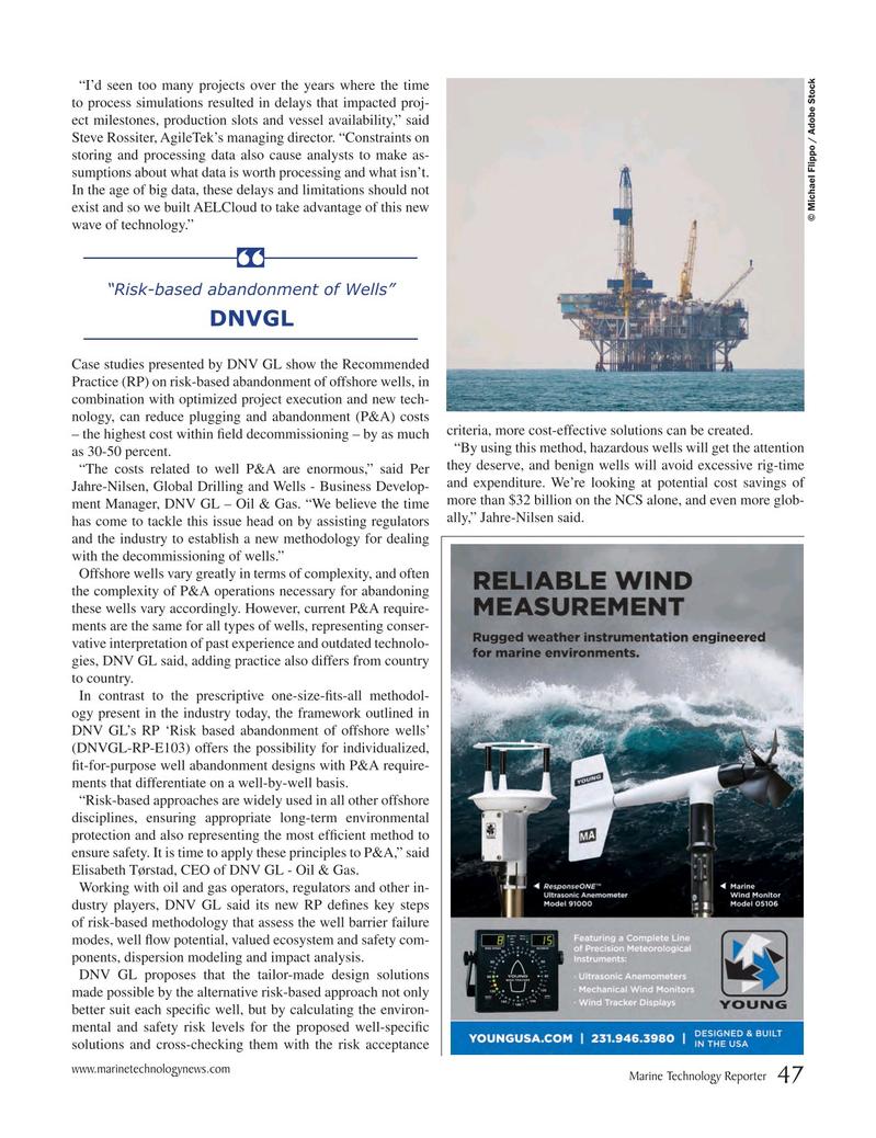Marine Technology Magazine, page 47,  Jul 2017