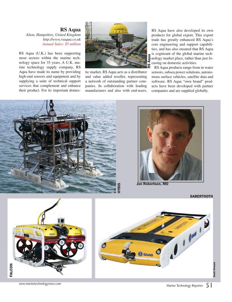 Marine Technology Magazine, page 51,  Jul 2017