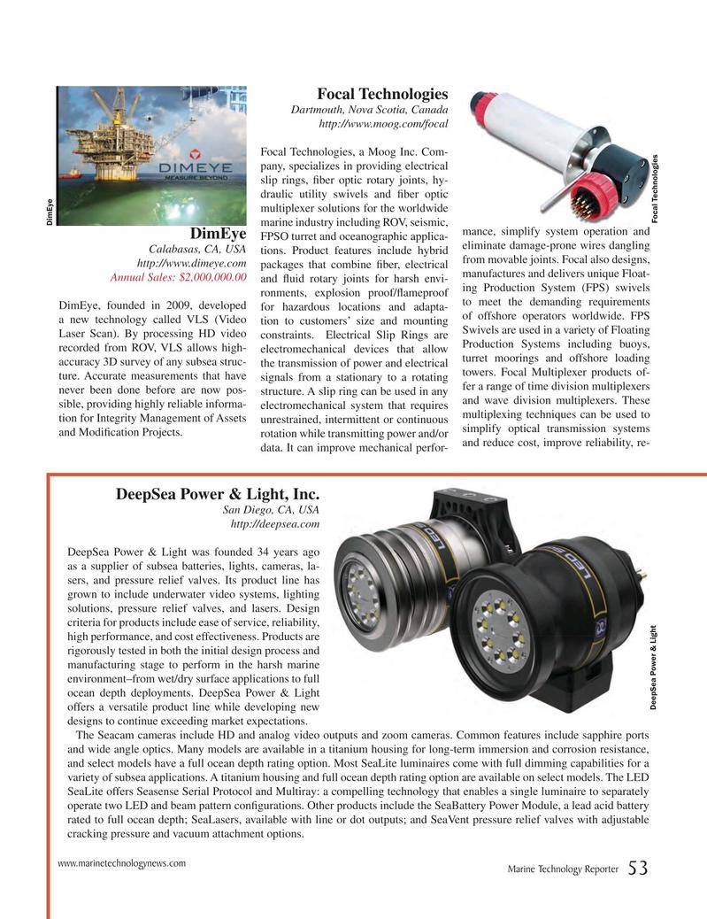 Marine Technology Magazine, page 53,  Jul 2017