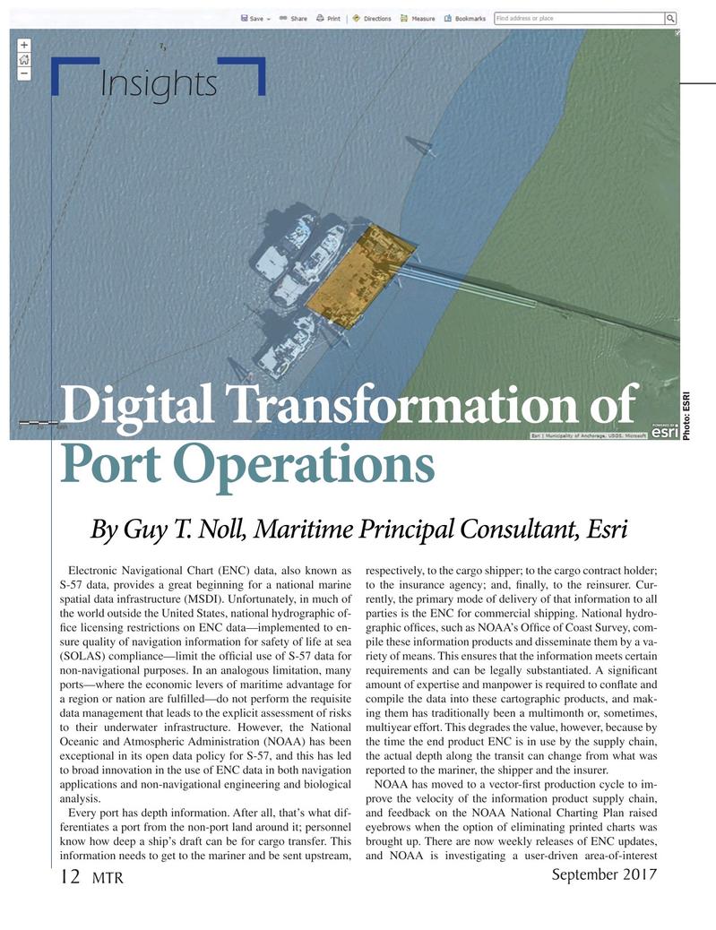 Marine Technology Magazine, page 12,  Sep 2017