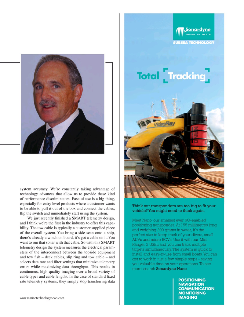 Marine Technology Magazine, page 27,  Sep 2017