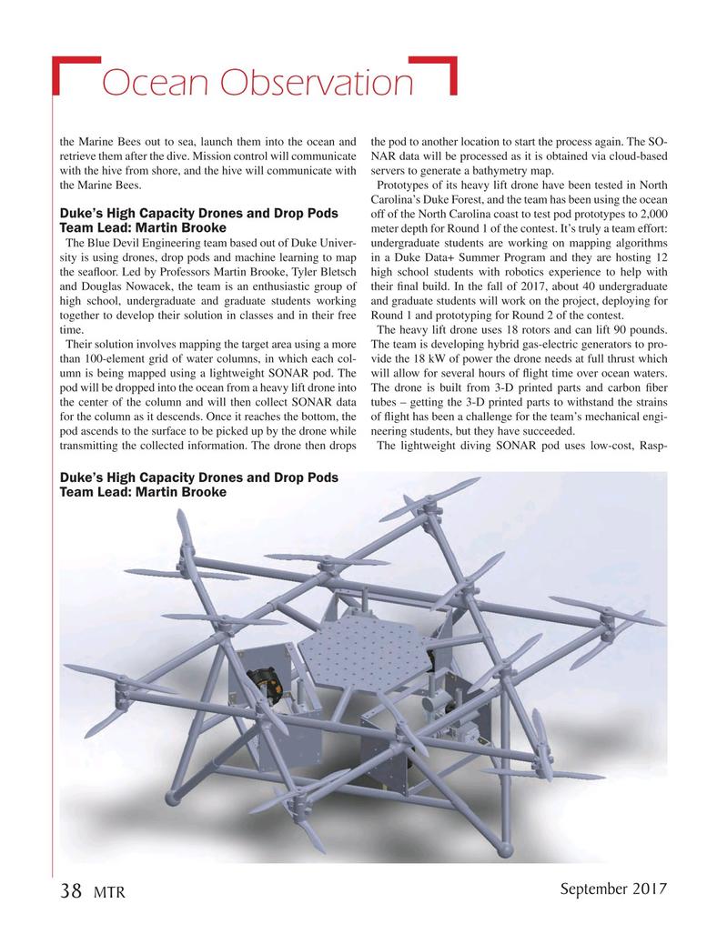 Marine Technology Magazine, page 38,  Sep 2017