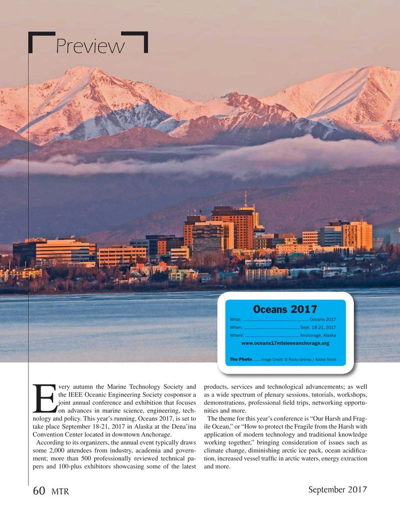Marine Technology Magazine, page 60,  Sep 2017