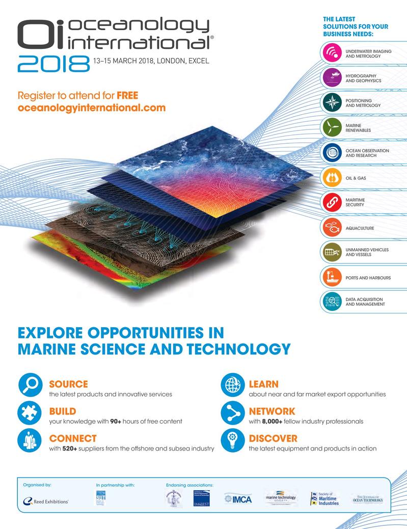 Marine Technology Magazine, page 61,  Jan 2018