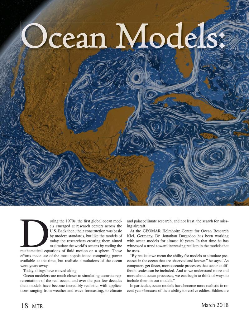 Marine Technology Magazine, page 18,  Mar 2018