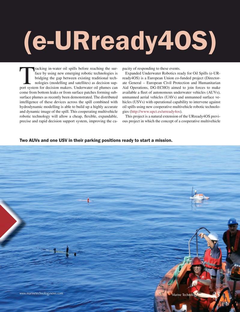 Marine Technology Magazine, page 25,  Mar 2018