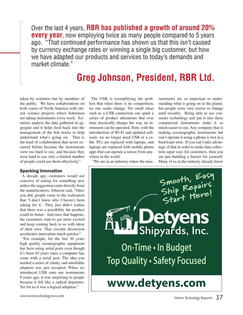 Marine Technology Magazine, page 37,  Mar 2018