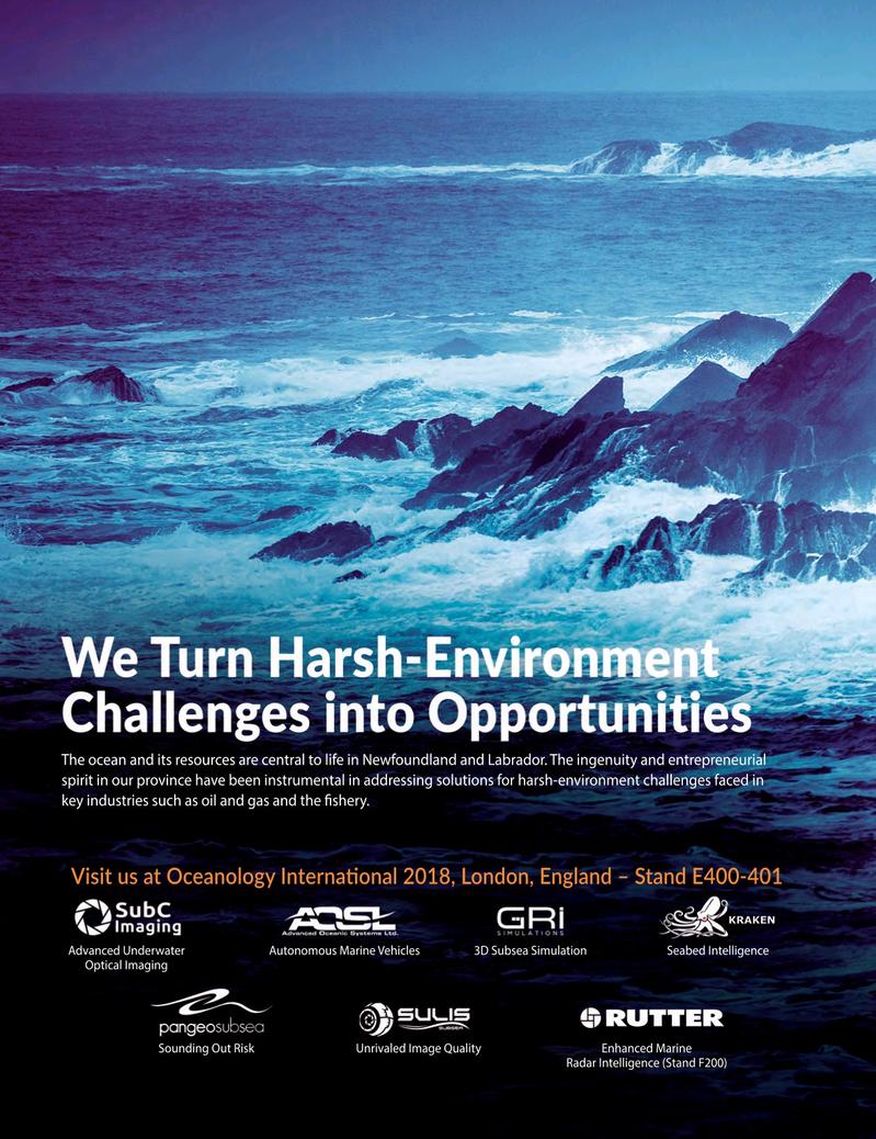 Marine Technology Magazine, page 40,  Mar 2018